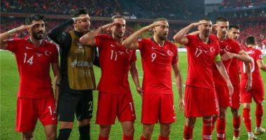 سوبر كورة.. اليويفا يفتح تحقيقا ضد لاعبى المنتخب التركى بسبب جيش أردوغان
