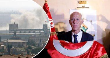 الرئيس التونسى قيس سعيد والحرب فى سوريا