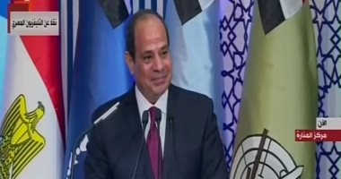 السيسى للمصريين: التحدى الحقيقى هو تماسك الشعب وعدم الخروج على الدولة