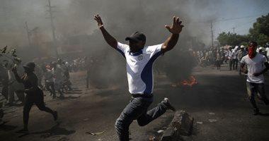 صور.. الآلاف يتظاهرون فى هايتى للمطالبة باستقالة الرئيس جوفينيل مويس