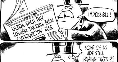 كاريكاتير واشنطن بوست