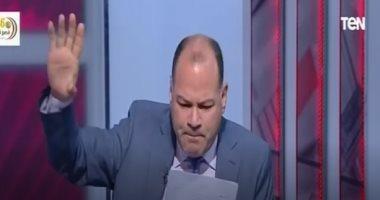 """نشأت الديهى يهاجم البرادعى على الهواء: """"يصف المصريين بالزبالة"""".. فيديو"""