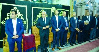 وزراء وشخصيات عامة يؤدون واجب العزاء فى وزير الاتصالات الأسبق طارق كامل