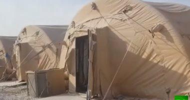 شاهد.. قاعدة عسكرية أمريكية فى شمال شرق سوريا بعد إخلائها