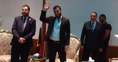 صور.. عماد متعب يكشف موعد مباراة اعتزاله ويؤكد: محمد صلاح أفضل لاعب عالميا