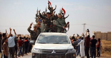قوات الجيش السورى تدخل مدينة الرقة لأول مرة منذ خمس سنوات