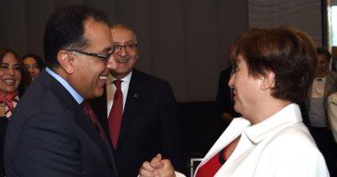 رئيس مجلس الوزراء يلتقى مدير صندوق النقد الدولى