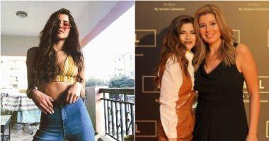 10 صور لملك عوض ابنة رانيا فريد شوقى بعد صورتها المثيرة للجدل مع والدتها