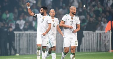 الجزائر ضد كولومبيا.. محرز يقود المحاربين للفوز بثلاثية نظيفة