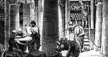 مكتبة الإسكندرية القديمة.. أشهر مؤسسة ثقافية حكومية فى التاريخ.. من تعلم فيها؟