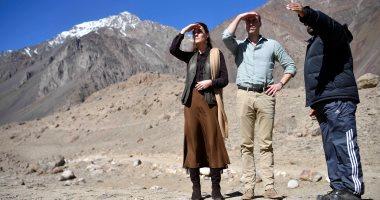 الأمير وليام وزوجته كيت يشهدان تأثر قمة جليدية بباكستان بتغير المناخ
