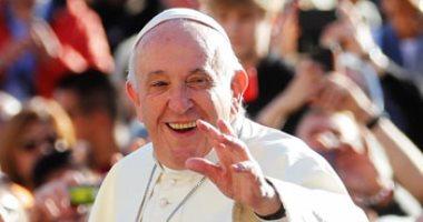 البابا فرنسيس يبدأ اجتماعه الأسبوعى بالفاتيكان