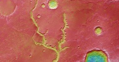 صور تكشف عن تفاصيل نهر قديم على سطح المريخ يبلغ عمره 4 مليارات سنة