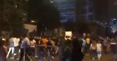 قوات الأمن اللبنانية تستخدم الغاز المسيل للدموع فى احتجاجات بيروت
