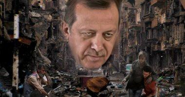 جرائم أردوغان في سوريا