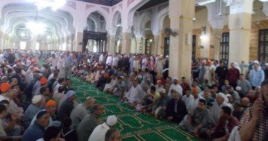صور.. افتتاح مسجد إبراهيم الدسوقى بعد تطويره فى أول أيام المولد