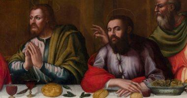 """عرض لوحة """"العشاء الأخير"""" لفنانة مجهولة من عصر النهضة بعد 450سنة من التخزين"""
