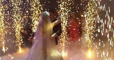 نجوم الفن فى حفل زفاف ابن هانى شاكر