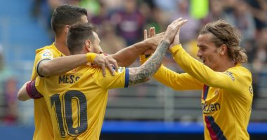 """الثلاثي الهجومى لـ""""برشلونة"""" يصل للهدف 13"""