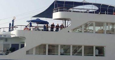 الإسكندرية تستقبل أول سفينة سياحية قبرصية تقل 500 سائح.. صور