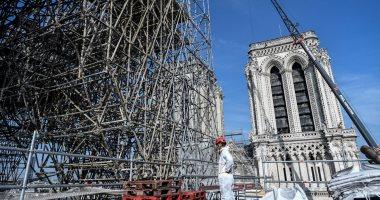"""ماكرون يقرر إعادة بناء"""" نوتردام دو بارى"""" على شكلها السابق بدون أى تعديل"""