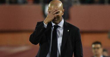 تقارير إسبانية.. زيدان يواجه شبح الإقالة من تدريب ريال مدريد