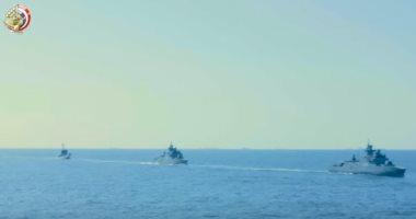 تعرف على أخطر القطع البحرية المصرية القادرة على الوصول لأبعد مدى.. فيديو