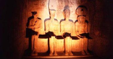 أنظار العالم تتجه بعد قليل إلى معبد أبوسمبل لمتابعة ظاهرة تعامد الشمس