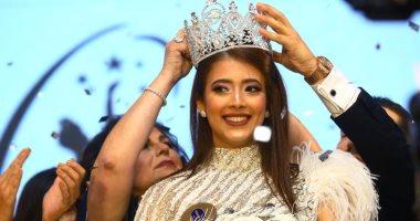 تتويج ديانا حامد بلقب ملكة جمال مصر للكون 2019 وآية عبدالرازق وصيفة أولى