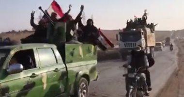 الجيش السورى يقتل 327 إرهابيا خلال عملية عسكرية مشتركة مع روسيا