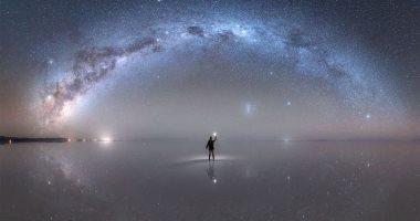 """ناسا تكشف عن صورة لمجرة درب التبانة تعكسها """"أكبر مرآة فى العالم"""""""