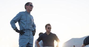 """المنافسة مستمرة بين أبطال فيلم Ford v Ferrari """"من حلبة السباق للأوسكار"""""""