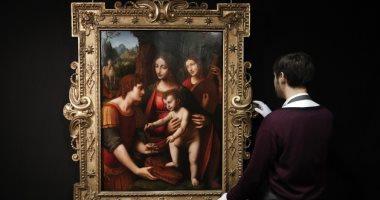 شاهد.. لوحة برناردينو لوينى عن المسيح قبل بيعها فى مزاد علنى