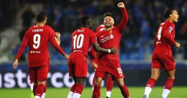 """جينك ضد ليفربول.. الريدز يتقدم في الشوط الأول 1-0 بمشاركة صلاح """"فيديو"""""""