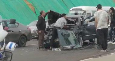 النيابة تشكيل لجنة لفحص السيارات المتضررة فى حادث طريق الكريمات الصحراوى