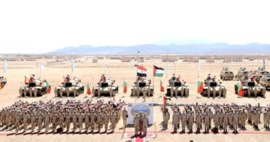 """مصر والأردن ينفذان التدريب المشترك """"العقبة - 5"""""""