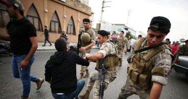 صدامات بين عناصر بلدية النبطية ومتظاهرين أمام السراي الحكومى بلبنان