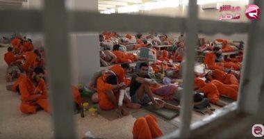شاهد.. داعشى يعترف: السلطات التركية وعدتنا بإخراجنا من السجون السورية