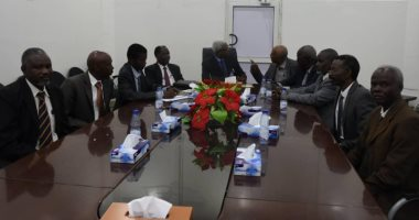 لقاء النائب العام مع وفد هيئة محامي دارفور