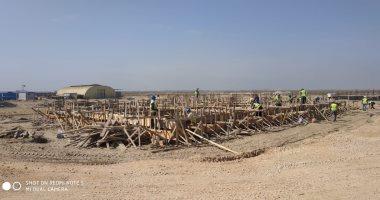 صور.. إنشاء أكبر محطة لتحلية مياه البحر بالمنصورة الجديدة على مساحة 24 فدانا