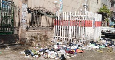 قارئ يشكو من انتشار القمامة فى قرية أبو حماد الشرقية