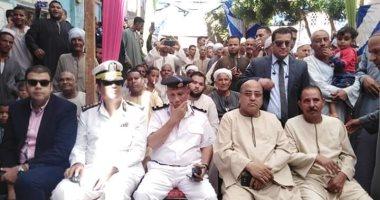 صور.. مدير أمن الأقصر يشهد إفتتاح السجل المدنى بأصفون ويشيد بالتجهيزات بالجهود الذاتية