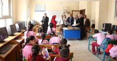رئيس هيئة جودة التعليم والاعتماد تتفقد المدارس المعتمدة فى 8 محافظات