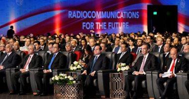 الرئيس السيسى: مؤتمر الاتصالات الراديوية يعكس نمو وتقدم الحضارة الإنسانية