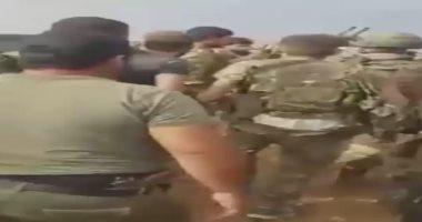 فيديو جديد للحظة القبض على فتاة كردية من قبل موالين للعدوان التركى بسوريا
