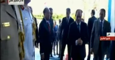 الرئيس السيسي يصل مقر احتفالية وزارة الأوقاف بالمولد النبوى الشريف