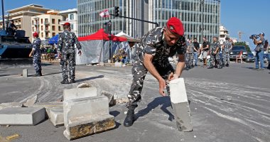 إصابة 75 متظاهرا في لبنان جراء الاشتباكات مع قوات الأمن