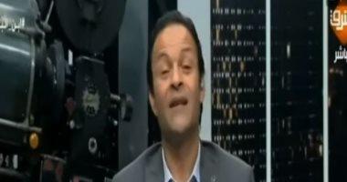 """شاهد.. إكسترا نيوز تعرض فيديو لـ""""أراجوز"""" الإخوان الهارب يسب المصريين"""