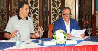 اتحاد الكرة يعلن أسماء حكام مباريات اليوم فى كأس مصر