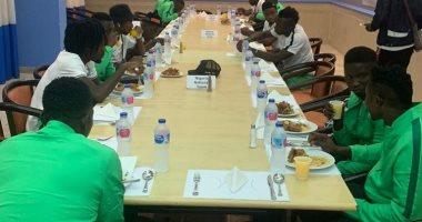 صور.. بعثة نيجيريا تصل الإسماعيلية للمشاركة فى أمم أفريقيا تحت 23 سنة